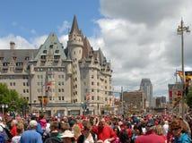 Canada Day in Ottawa Stock Photography