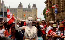 Canada Day in Ottawa Royalty Free Stock Photography