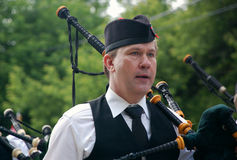 Canada Day Piper stock photography