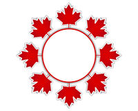 Canada Day stickers. Stock Images