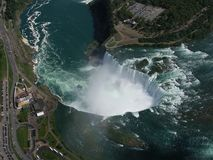 Canada de chutes du Niagara : Amérique du Nord Photographie stock libre de droits