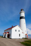 Canada de Labrador de phare d'intrigue amoureuse de point Photos libres de droits
