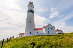 Canada de Labrador de phare d'intrigue amoureuse de point Images stock
