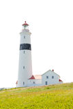 Canada de Labrador de phare d'intrigue amoureuse de point Photographie stock