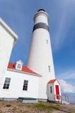 Canada de Labrador de phare d'intrigue amoureuse de point Photos stock