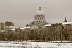 Canada de Montréal de vieux port de marché du marché de Bonesecours Photographie stock libre de droits
