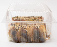 Canada de petit pain de sushi Image stock