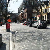 Canada de Toronto d'avenue de Yorkville Images stock
