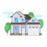 canada dom na wsi ulica Toronto Obrazy Royalty Free