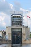 Canada du Québec de canal de carillon photo libre de droits