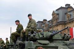 Canada eert veteranen die in Afghanistan dienden Royalty-vrije Stock Afbeeldingen