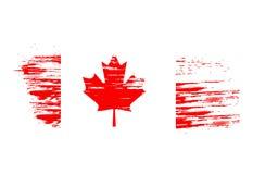Canada flag. Grunge canada flag background,vector illustration Royalty Free Stock Photography