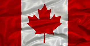 Canada Flag 3 Royalty Free Stock Images