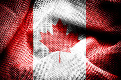The Canada Flag. Royalty Free Stock Image
