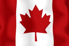Canada Flag. Very large version of the Canada flag Vector Illustration
