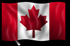 Canada, Flag, Canadian, Country Royalty Free Stock Photography
