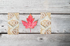 Canada flag concept Royalty Free Stock Photography