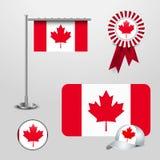 Canada flag design vector vector illustration