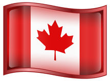 Canada Flag Icon Stock Photos