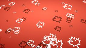 Canada flag maple leaf Stock Images