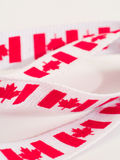 Canada Flag ribbon Royalty Free Stock Photo
