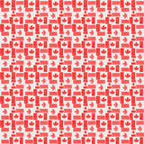 Canada flag seamless pattern. Canada flag background usable for decoration, textile or paper prints, scrapbooks,planner supplies Stock Images