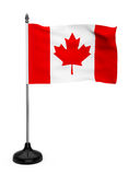 Canada Flag with stand Royalty Free Stock Image