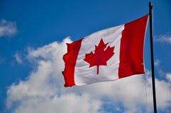 canada flaga Fotografia Royalty Free