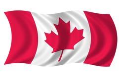 canada flaga Obraz Royalty Free