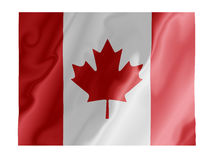 Canada fluttering Stock Image