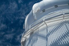Canada-France-Hawaii Observatory Stock Photo