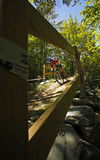 Canada games mountain biking man Royalty Free Stock Photos
