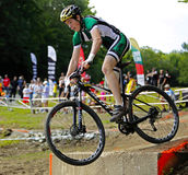 Canada games mountain biking man race Royalty Free Stock Photo
