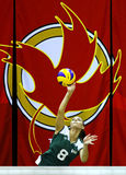 Canada games volleyball serve woman Stock Photos