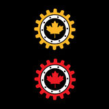 Canada gear Royalty Free Stock Photo