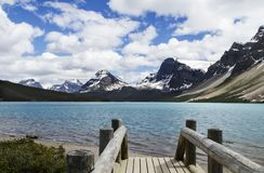 Canada glacier water stock photography