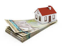 Canada House Mortgage Royalty Free Stock Photo
