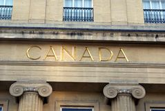 Canada House, Trafalgar Square, London, England, Europe Stock Photos