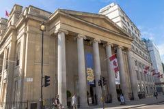 Canada House in Trafalgar Square, London Stock Photography