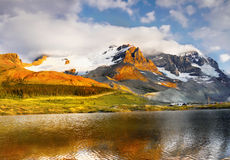 Canada Icefields Parkway Tour Stock Image