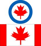 Canada Insignia. Vector illustration of canada aircraft insignia Royalty Free Stock Photography