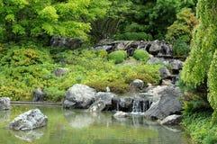 Canada, Japanese garden in the Botanical Garden of Montreal Royalty Free Stock Photos