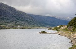 canada jezioro obraz stock
