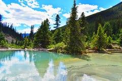 Canada_Johnston_Inkpots fotografía de archivo libre de regalías