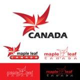 Canada label Stock Image