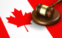 Canada Law Legal System Concept Royalty Free Stock Photo