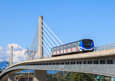 Canada Line Bridge Royalty Free Stock Image