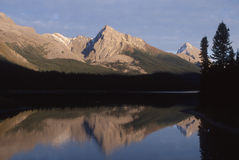 Canada - Maligne Lake Stock Photo