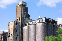 Canada Maltage Cie grain elevators Stock Photo