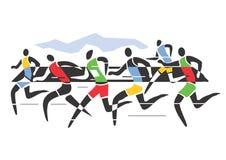 canada maratonu Ontario Ottawa biegacze Zdjęcia Stock
